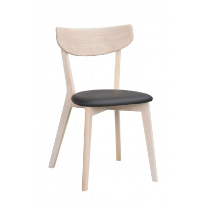52209 a Ami stol, ww svart konstläder R