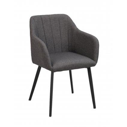 119934 b, Bolton karmstol, grå svart