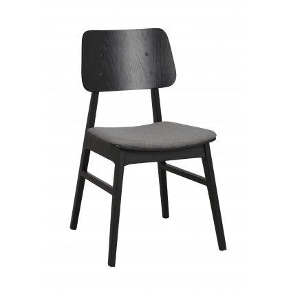 119432 b, Nagano stol, svart mörkgrå R