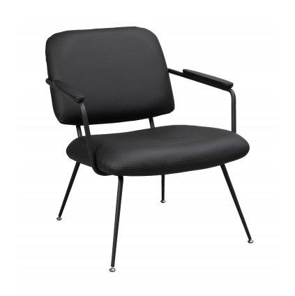 120110 b, Prescott lounge chair black black
