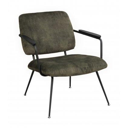 120115 b, Prescott lounge chair green black