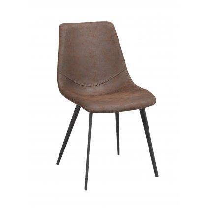 110446 b, Raymore stol, brun svart