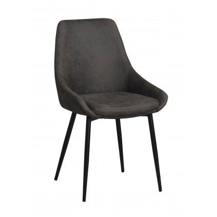 110385 b Sierra stol mörkgrå R b2