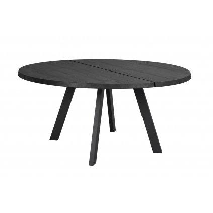 117444 a, Fred matbord runt 160, svart ek svart R kopiera