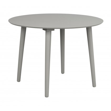 110662 b Lotta matbord runt, ljusgrå R