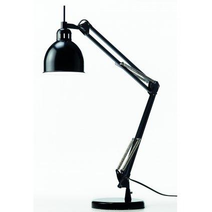 Job table lamp black matt 2148