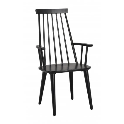 111030 b, Ellen armchair, black