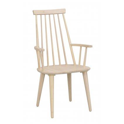 111031 b, Ellen armchair, whitepigmented