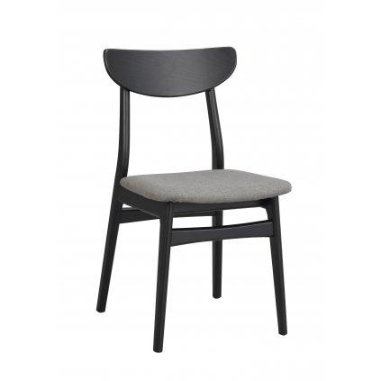120068 b, Rodham chair, black dark grey