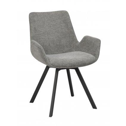 110530 b, Norwell swivel chair, grey black