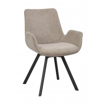110531 b, Norwell swivel chair, beige black