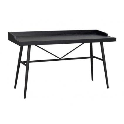 119734 b springdale writing desk black black metal