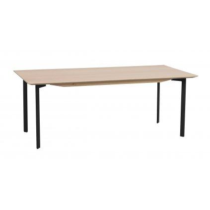 119273 b, Spencer soffbord rekt. vitpigm. svart R