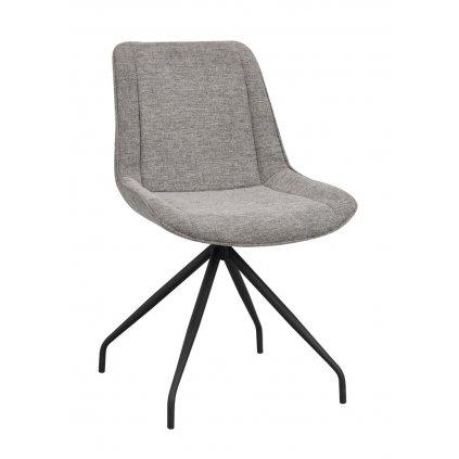 120084 b rossport chair grey fabric black