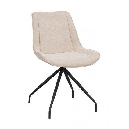 120085 b rossport chair beige fabric black