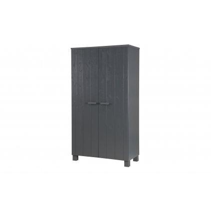 27815 1 dennis wardrobe steelgrey fsc