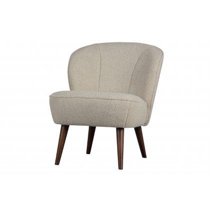27830 1 sara armchair teddy off white