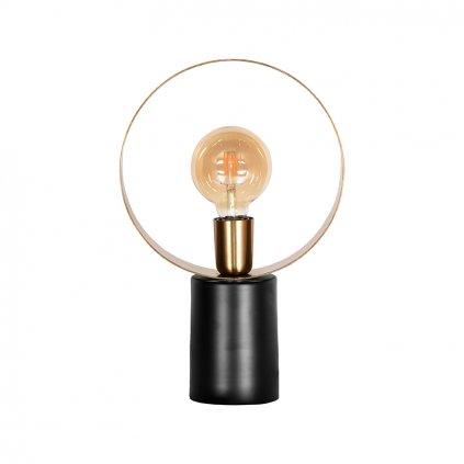 Kovová stolní lampa RAY zlatá