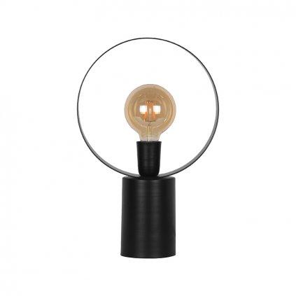 Kovová stolní lampa RAY černá