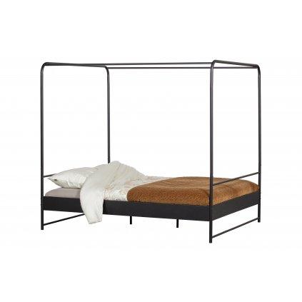 3890 2 postel bunk cerna 160x200 cm