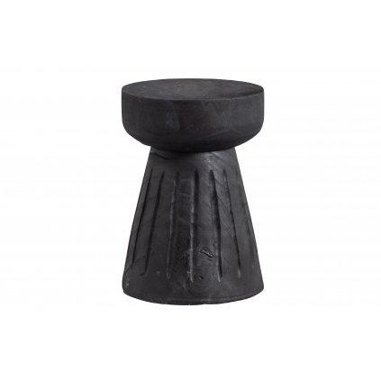 4193 2 stolicka borre cerna 28 cm