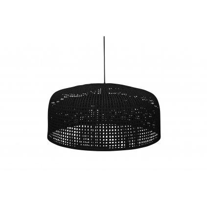 4940 1 zavesna lampa construct cerna