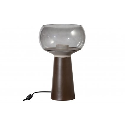 4988 5 stolni lampa mushroom coffee 37cm