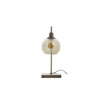 4997 3 stolni lampa lantern mosaz