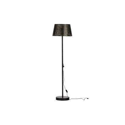 5015 5 stojaci lampa keto cerna mosaz