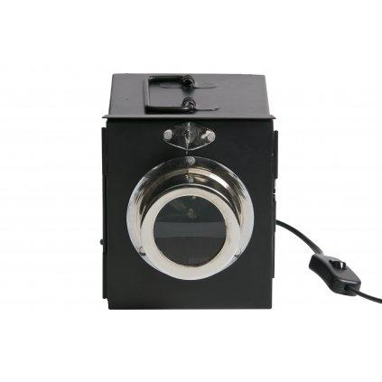 5018 4 stolni lampa projector cerna