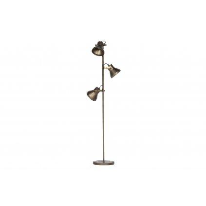 5030 4 stojaci lampa triplet mosaz