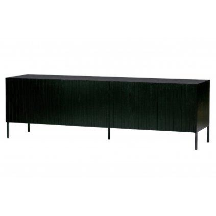 8075 2 tv stolek gravure cerny