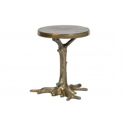 8705 1 odkladaci stolek rooted mosaz