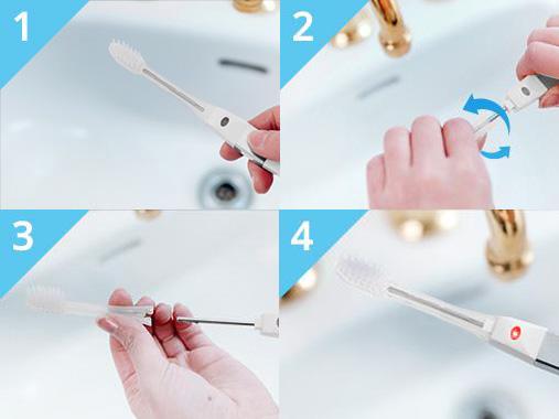 Ako používať zubnú kefku IONICKISS