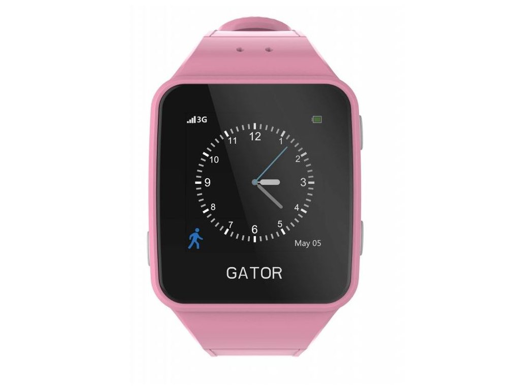 Dětské chytré GPS hodinky s mobilem a lokátorem - Gator 3 - iotlevne.cz 9fa6884620d