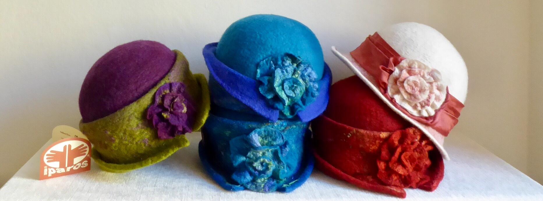 Plstěné klobouky