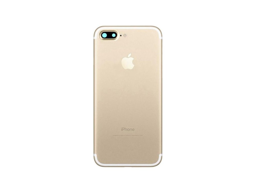 Apple iPhone 7 Plus Bag Cover Guld1503931923.2232
