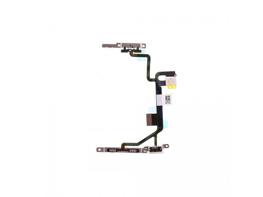 for apple iphone 8 power switch volume flex cable replacement oem new (1)