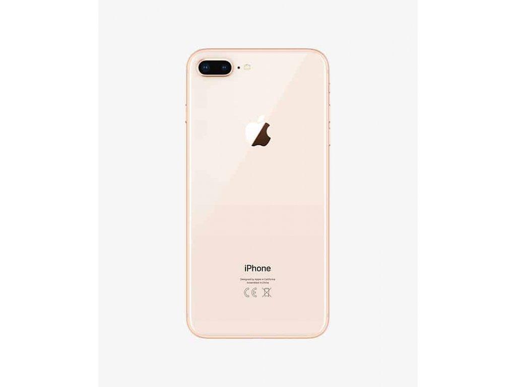 apple iphone 8 plus gold back