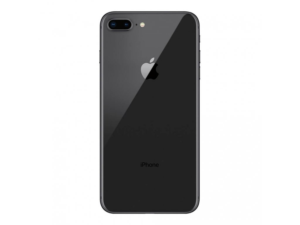 iphone 8 plus space gray back