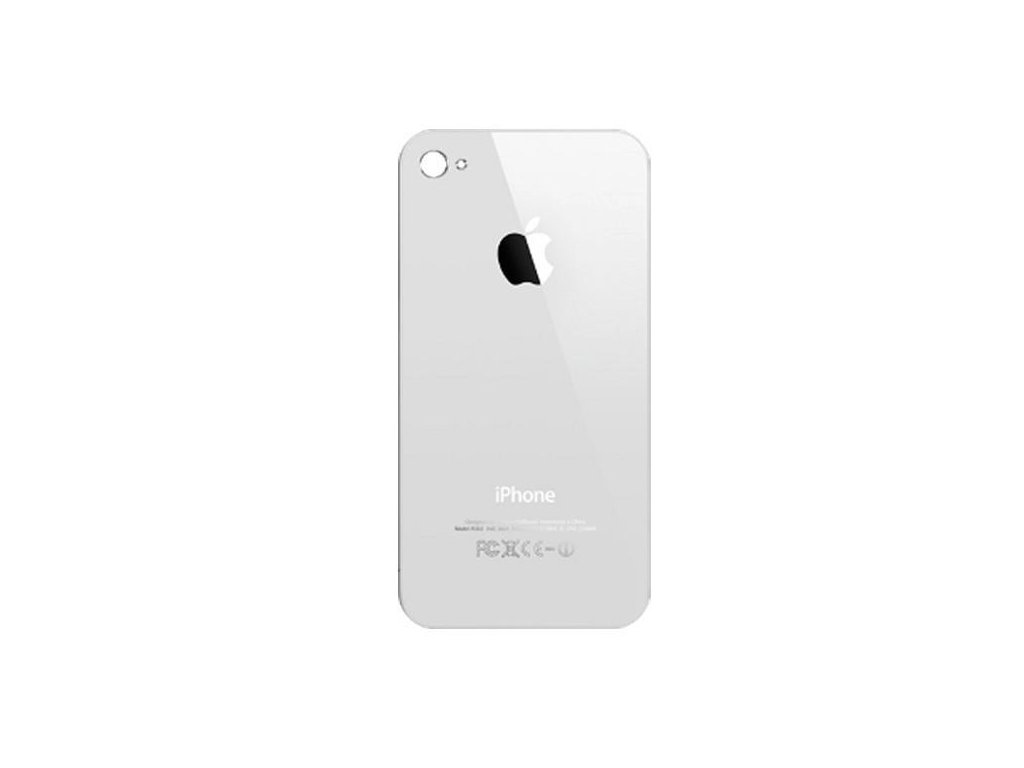 iPhone 4 back cover white grande