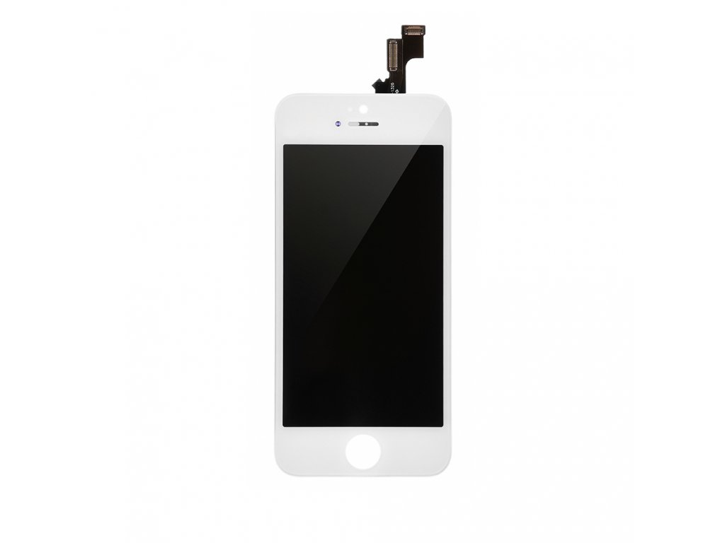 Apple iPhone 5S - LCD bílý