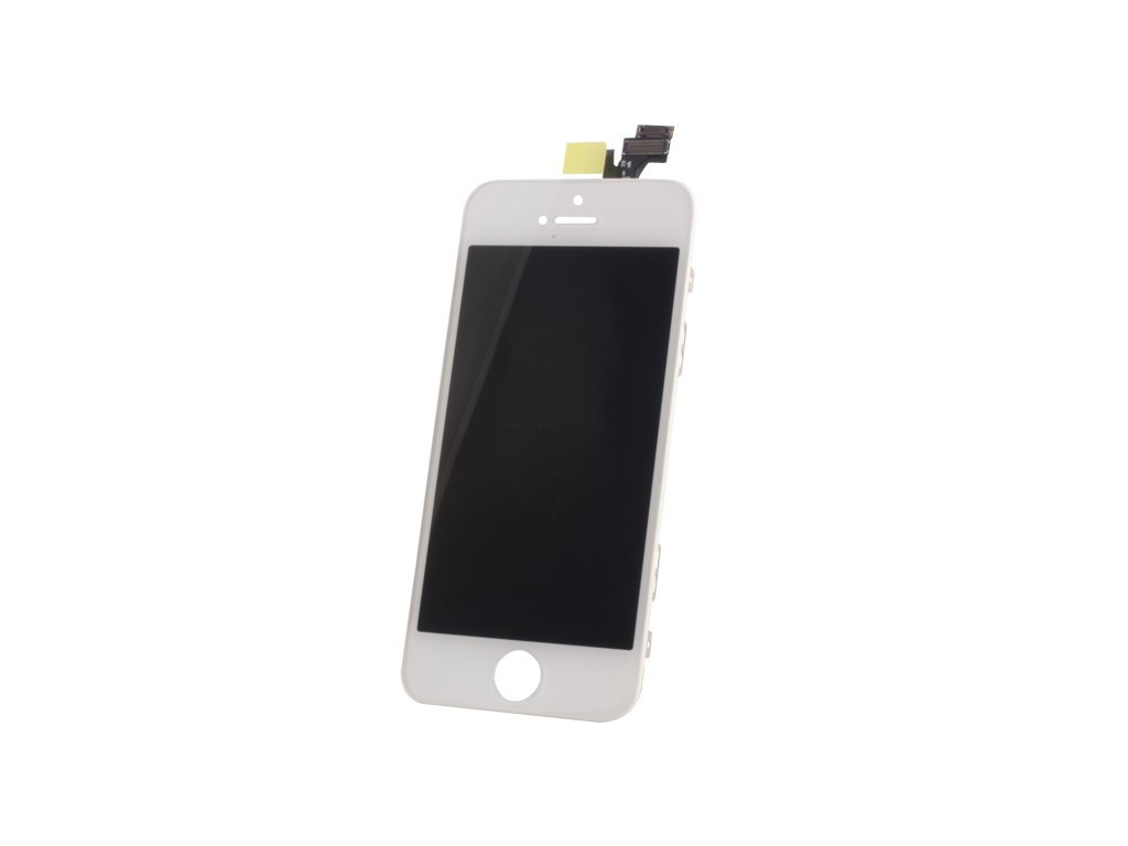 44446 lcd displej dotykova deska iphone 5s white oem nahradni dil 2