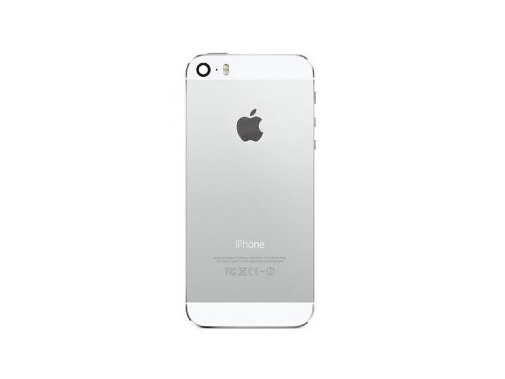3 Apple iPhone 5S Back Battery Cover Housing Replacement Silver 1 700x600