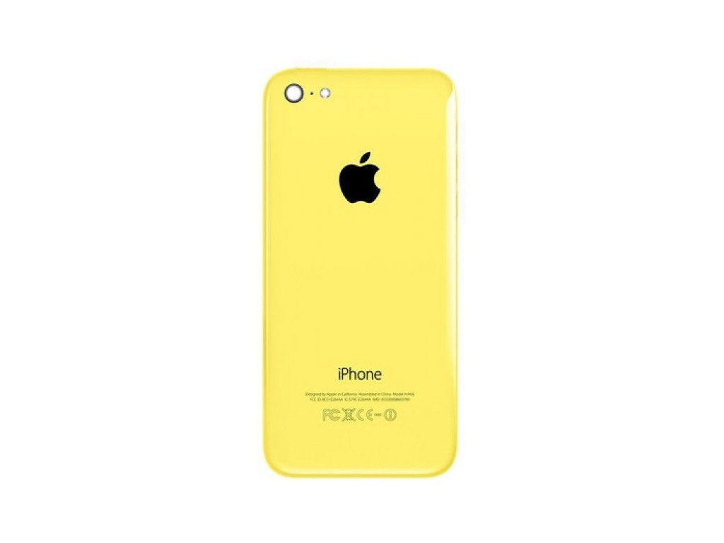 iphone 5c Back Housing Replacement Yellow 700x600