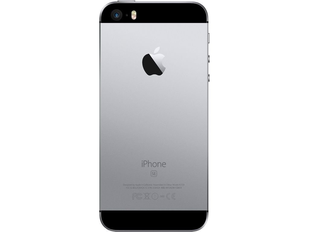 Apple iPhone se space grey.back