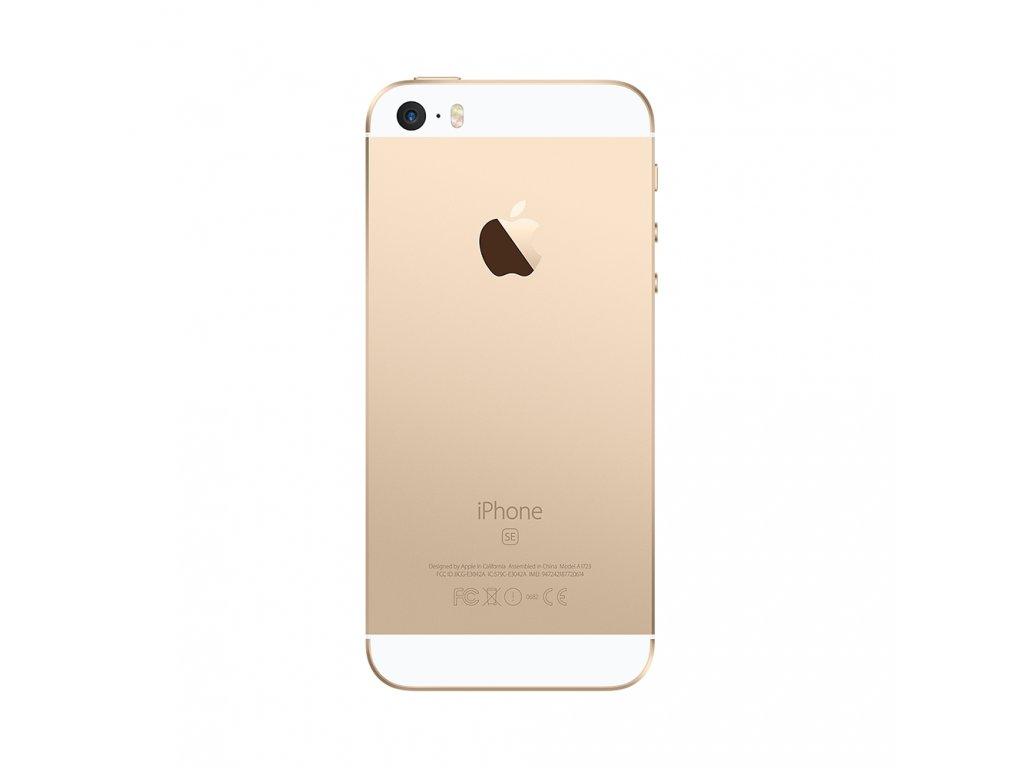 Apple iPhone SE - zadní kryt - gold