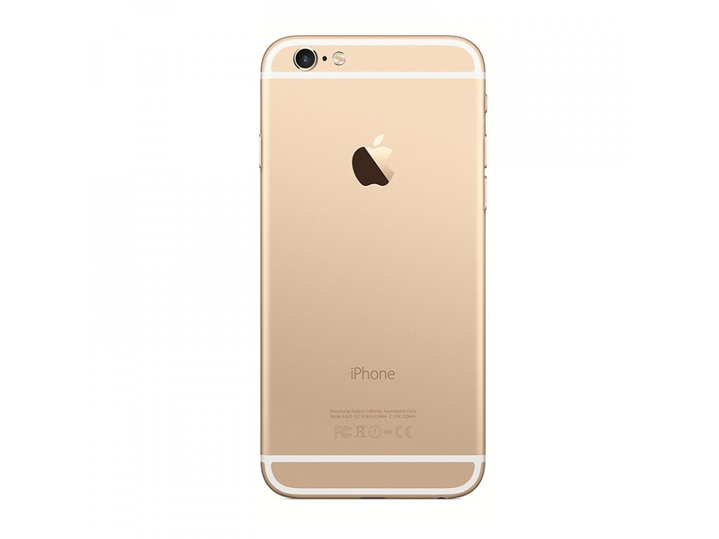 iPhone 6 Gold Back