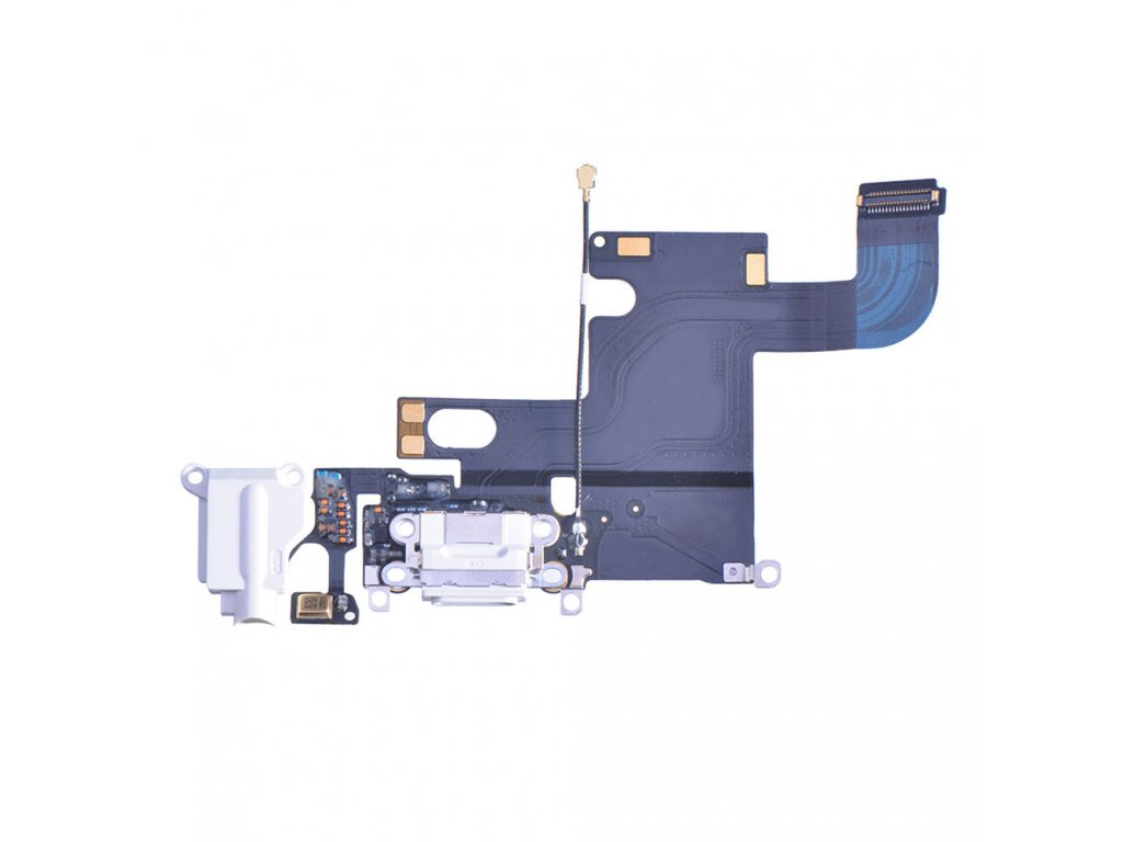 replacement for apple iphone 6 charging port flex cable white 2