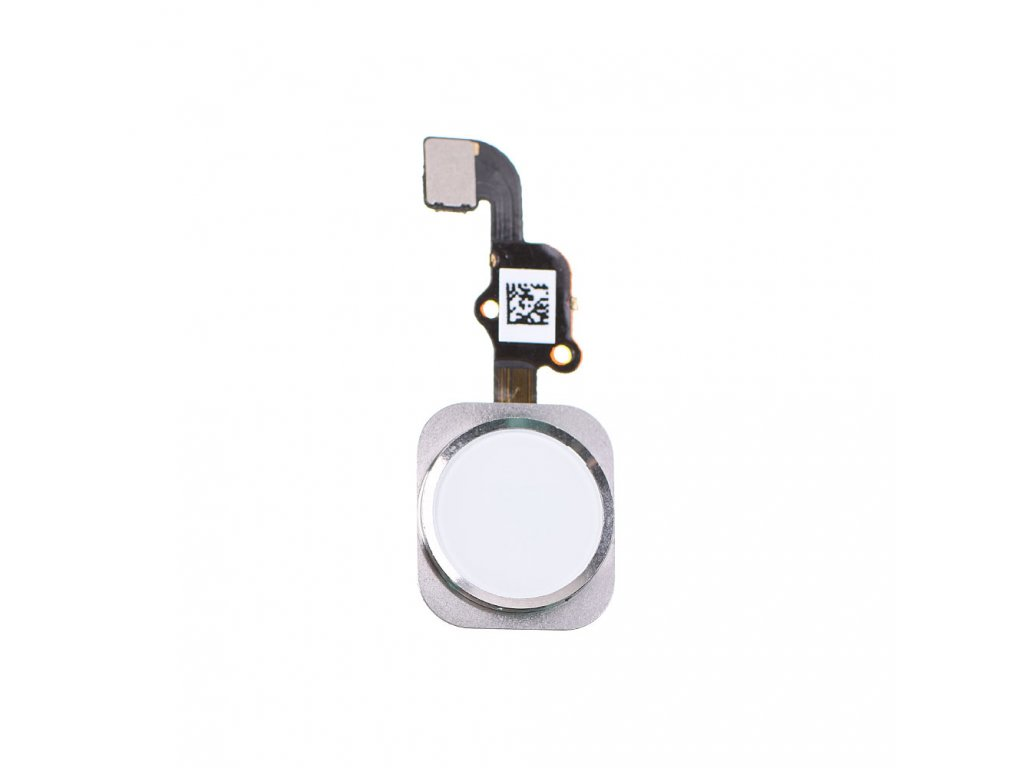 replacement for apple iphone 6s home button with flex cable assembly white 1